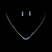 Necklace Earring Set 305 Blue