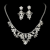 Beautiful Swarovski Necklace Earring Set NE 7207