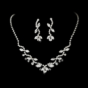 Sparkling Swarovski Crystal Jewelry Set NE 2118 **Discontinued**