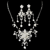 Swarovski Couture Necklace Earring Set NE 7300