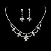 Swarovski Crystal Bridal Jewelry Set NE 7212