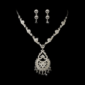 Chandelier Dangle Jewelry Set NE 932