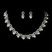 Swarovski Crystal Swirl Jewelry Set NE 979
