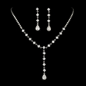 Elegant Crystal Bridal Jewelry Set NE 71630