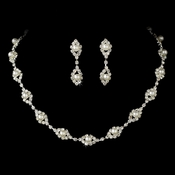 Necklace Earring Bridal Set NE 10034