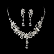 Swarovski Necklace Earring Jewelry Set NE 8308
