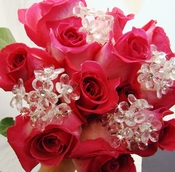 Crystal Bouquet Jewelry Flower Cluster BQ 284 Bunch