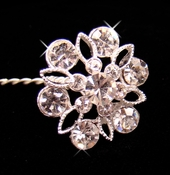 Crystal Bouquet Jewelry BQ 211 Silver or Gold