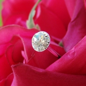 Bouquet Jewelry  Pave Buttons Small