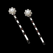 Floral  Hair Accents Bobby Pins 70369 (1 Pair)