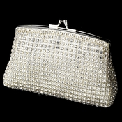 Elegant Crystal Rhinestone Mesh Evening Bag