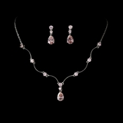 Fabulous Crystal Jewelry Set N 2701 & E 2845**Pink is Discontinued***
