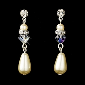 Earring 8151 Ivory  AB