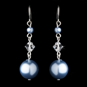 Earring 8355 Light Blue