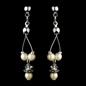 Earring 8373 Ivory **Discontinued***