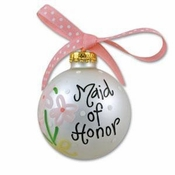 Maid of Honor Ornament OR-12