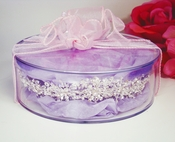 Tiara Keepsake Presentation Box with Tissue Paper & Bow