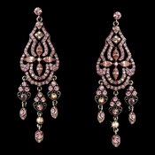 Dazzling Pink Earrings E 988