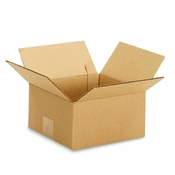 Corrugated Moving Shipping Box 8 x 8 x 4""