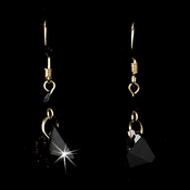 * Earring 8124 Gold Black