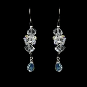 Clear AB Austrian Crystal Earrings 8259