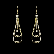 * Earring 8331 Gold Clear