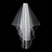 "2 Layer 30"" and 35"" Bridal Veil 139 F"