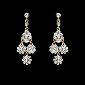Beautiful Gold Earrings E 940