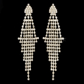 * Captivating Gold Chandelier Earrings E 410 ***Discontinued***