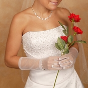 Formal or Bridal Gloves Style GL70001-8