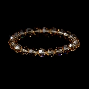 Light Colorado Swarovski Crystal Bridal Bracelet B 201