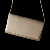 Fabulous Champagne Satin Evening Bag 0055