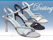 * Destiny Elegant Rhinestone Evening Shoe