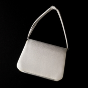 Lovely Ivory Satin Evening Bag 221
