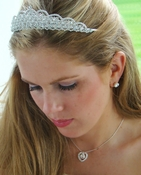 Crystal Couture Bridal Tiara & Jewelry Set NE 71625 & HP 6350