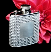 Crystal Glitter Flask 21010