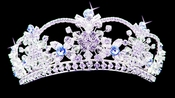 Lt Blue Accented Tiaras
