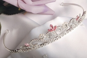 Pink Accented Tiaras