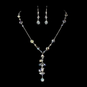 Swarovski Crystal Necklace Earring Set NE 8127