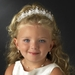 Pretty Flowergirl Or First Communion Headpiece HPC 9163 Ivory
