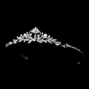 Silver Children's Tiara 6452