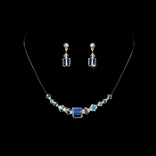 AB Illusion Necklace & Earring Set NE 233