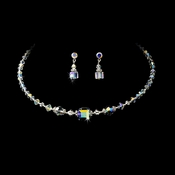 * Necklace Earring Set NE 232 AB **1 left**