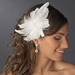 Floral Hair Fascinator with Crystals Clip 1531 with Brooch Pin