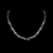 * AB Swarovski Crystal Necklace N 202
