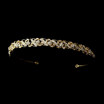 * Gold Clear Headpiece 6279