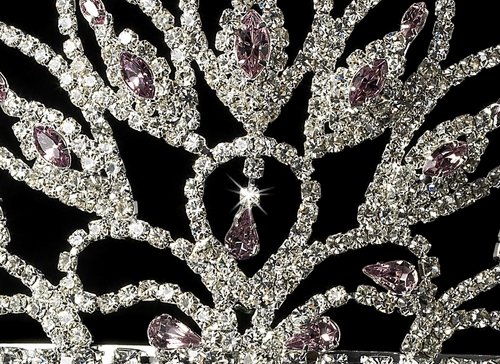 Wholesale Crystal Rhinestone Pageant Crowns Tiaras, HP 243