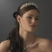Rhinestone Galore Princess Bridal Hair Tiara Headband - HP 8411 Silver