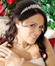 Opal Inspired Swarovski Bridal Headband HP 8143