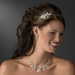 * Silver Clear Headband Headpiece 9839